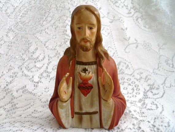 Vintage Statue of Jesus.  1961