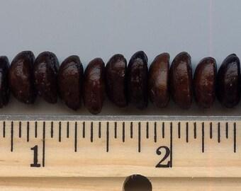 Costa Rican Coffee Bean beads (5)