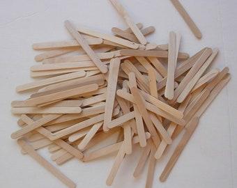 250 Wooden popsicle Craft Sticks