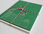 Christmas Village Cards
