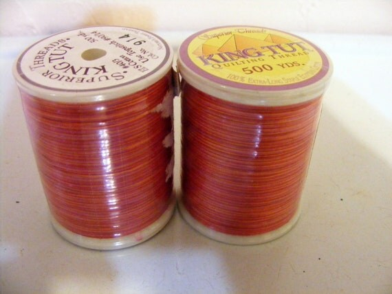 2 spools of quilting thread - Superior Threads - King Tut