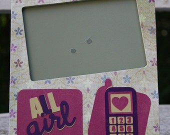 All Girl picture frame