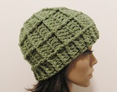 Epic Ribbed Snow Beanie - Lettuce - Made to order - Mens and womens hat