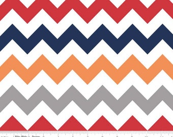 Medium Chevron Boy  by Riley Blake Designs 1 yard cut