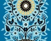 Sun Grow Illustrated Greetings Card