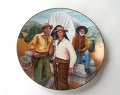 Rawhide Clint Eastwood Collectible Porcelain Plate Limited Edition - RinnovatoVintage