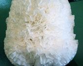 Flowery White Lamp Shade
