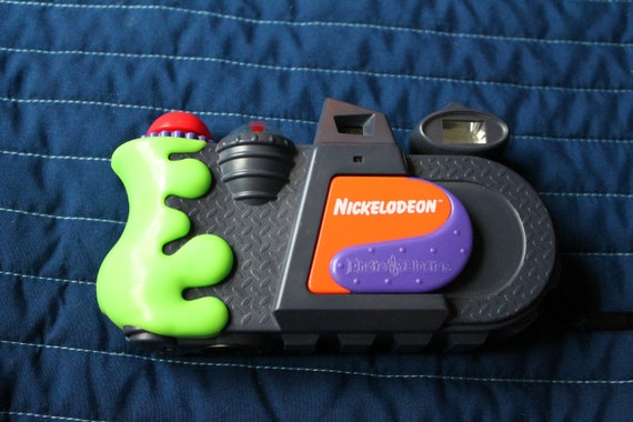 ORIGINAL Ultra-Rare Nickelodeon Photoblaster 35mm Camera