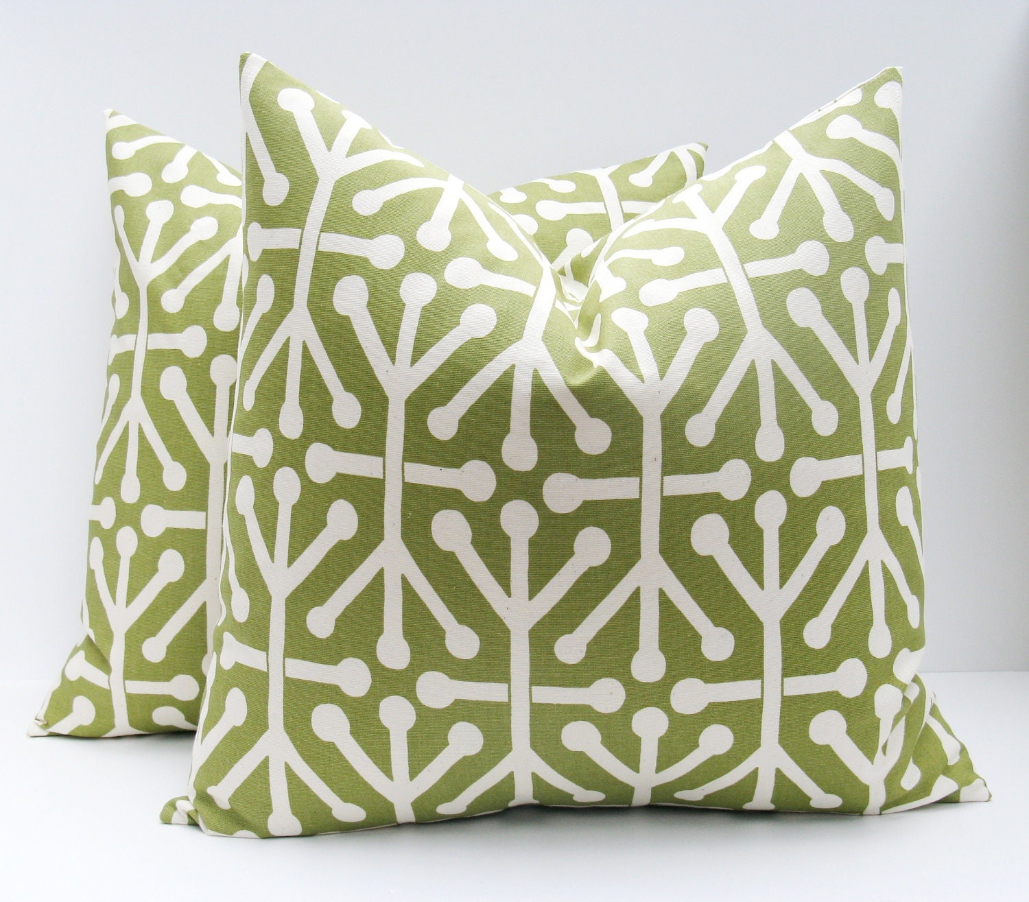 Decorative Throw Pillows Green Pillow Cover Olive by EastAndNest