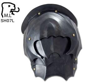 New Medieval pair pauldron in steel Armor Larp SH07