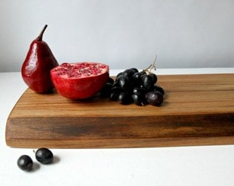 live edge Black Walnut cutting board, the perfect gift from salvaged wood