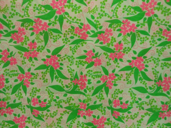 "Vintage Lilly Pulitzer Key West Fabric ""MMMaud"""