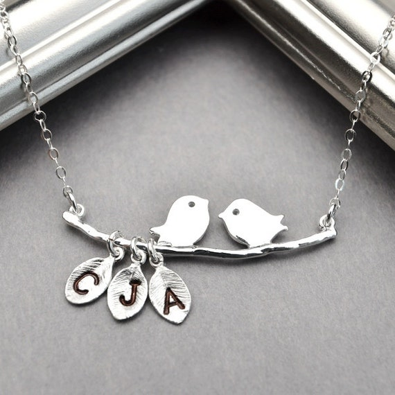 personalized mothers necklace personalized necklace silver. Black Bedroom Furniture Sets. Home Design Ideas