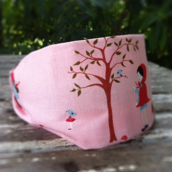Little Red Riding Hood Fabric Headband