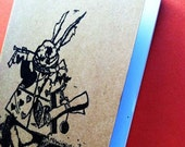 Moleskine Pocket Journal -  Zombie White Rabbit