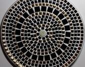 "12"" Decorative Mosaic Ceramic Tile Plate"