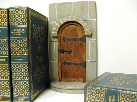 Castle Fairy Door for Fairys That Make Wishes Come True - Unique Christmas Gift