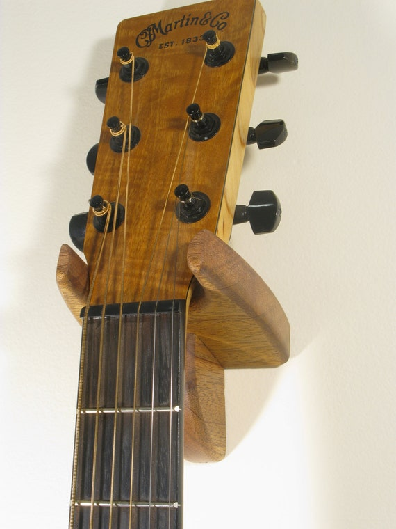Acoustic Guitar Hanger - African Mahogany