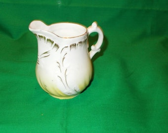 One (1) Porcelain 8 oz. Creamer, Unmarked