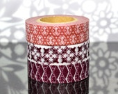 Shades of Morocco Washi Tape - Wine