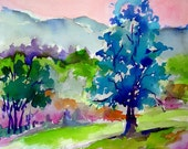 """Summer Afternoon in Vermont 13"""" x 19"""" Archival Digital Print"""