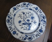 Set of 6 Salad Plates - Blue Onion by Sone China