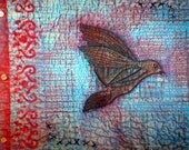 Fly Away Art Quilt Sketchbook