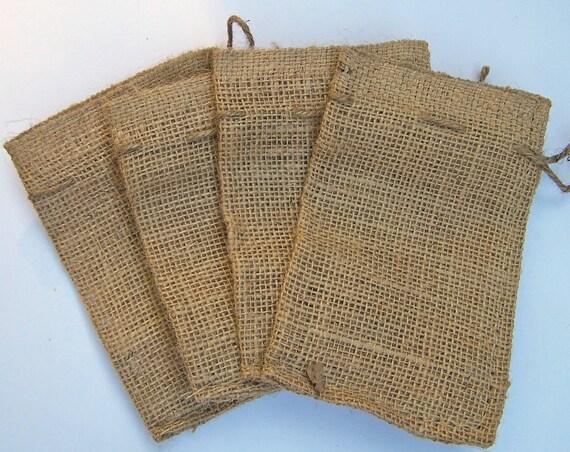 Small Wedding Gift Bags: Items Similar To 10 Small Burlap Bags 4 X 6, Wedding