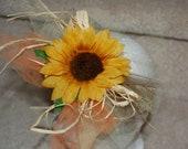Sunflower Fall headband
