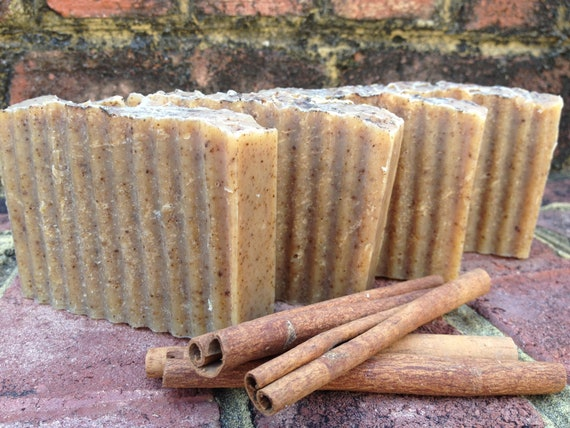 SOAP - Cinnamon, Clove, and Honey Organic Coconut Milk Handmade Soap - all natural - cold process - soap