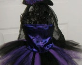 Witch Halloween Costume with all accessories included NB thru 7/8
