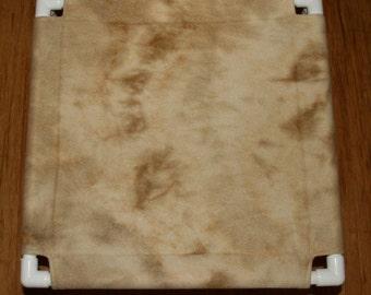 Replacement Cover for 19x19 Hammock, Fleece Tan Tie Dye