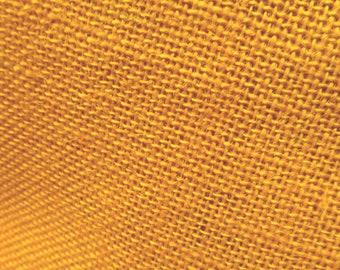 Jute Burlap Mango 58 Inch Fabric by the yard - 1 yard