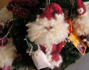 Santa Christmas Ornament - copyright 1990