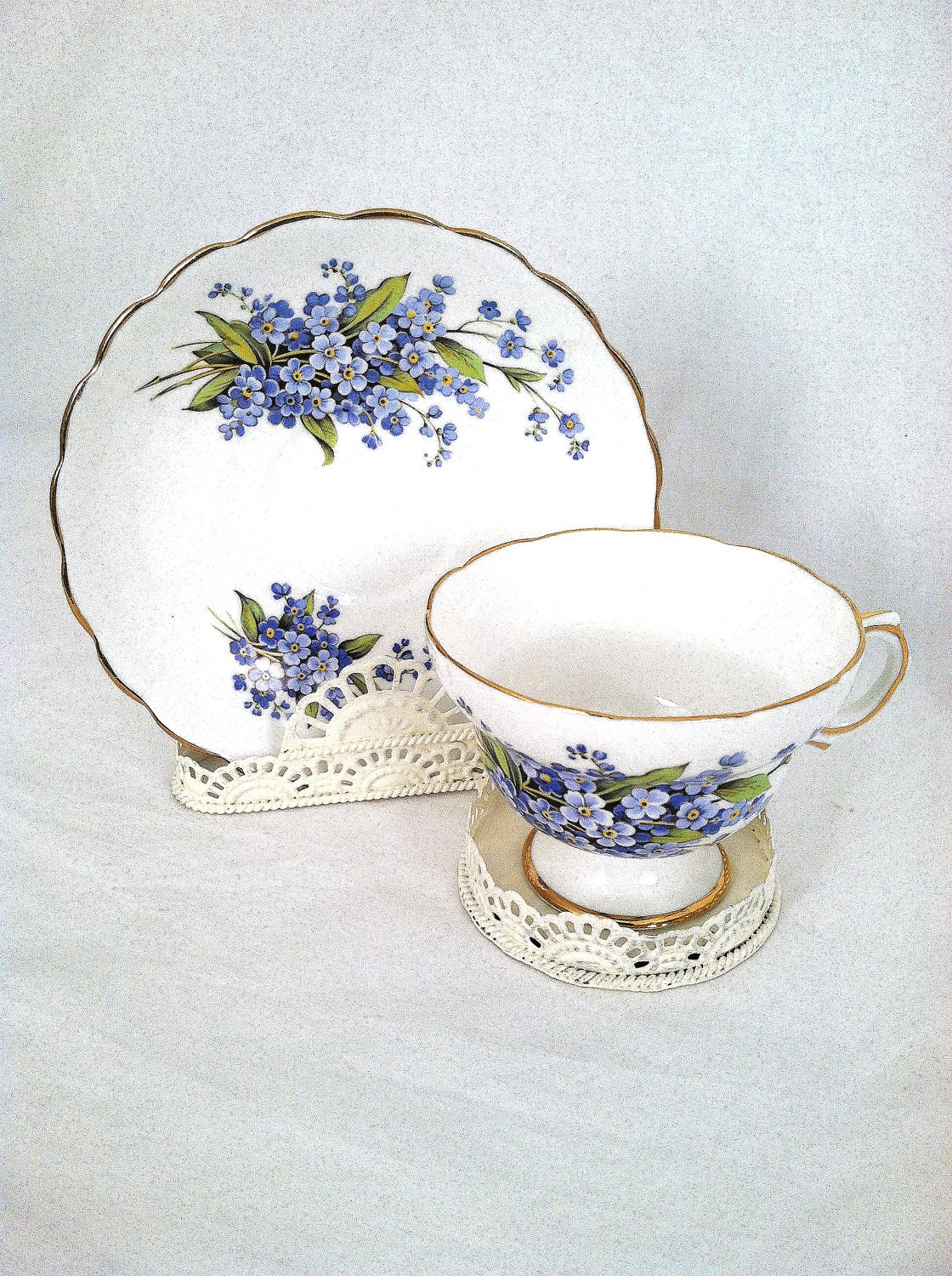 Tea Cup And Saucer Stand Holder Display By Mariasfarmhouse