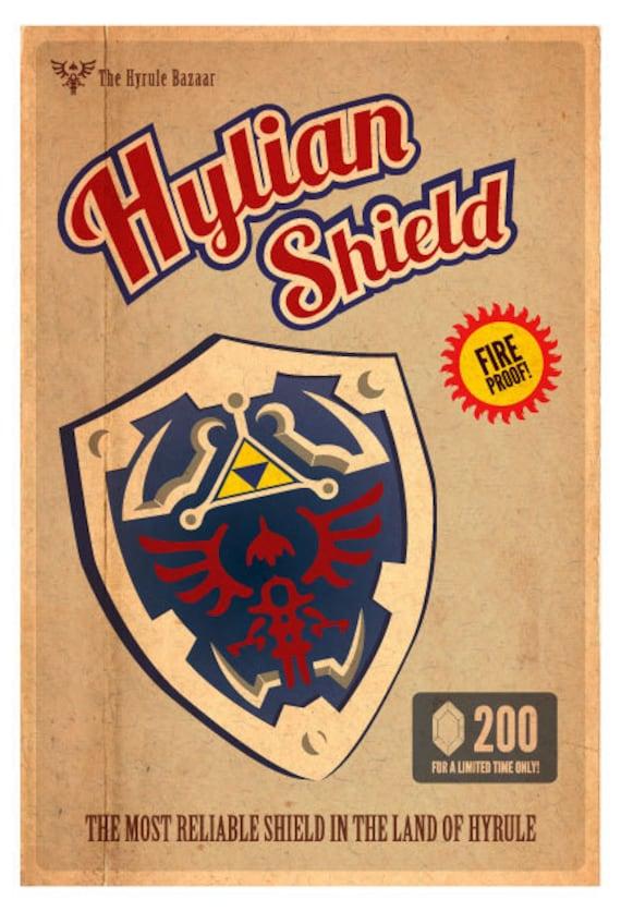 Hylian Shield 15 x 22