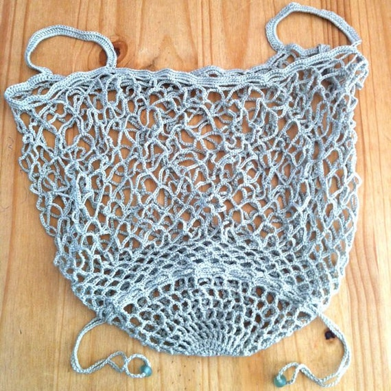 Crochet Bag Pattern / String Bag Pattern / Crochet Tote Pattern / Mesh ...