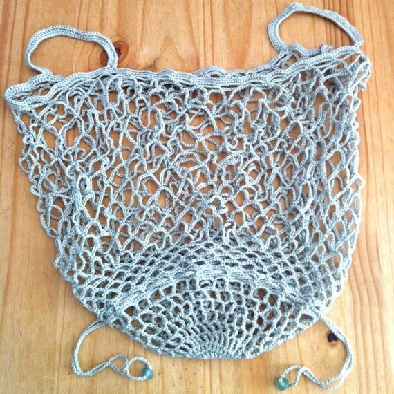 Crochet Mesh Bag Pattern : Crochet Bag Pattern / String Bag Pattern / Crochet Tote Pattern / Mesh ...