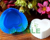 B0009 Heart Silicone Cake Molds Cake Mold Silicone Chocolate Mold Chocolate Moulds Nicole