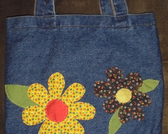 Custom Denim Bag for Jen