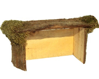 Rustic Wood Nativity Stable, Christmas Stable, Nativity Manger, Christmas Creche