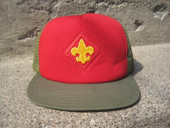 Vintage Boy Scouts Trucker Hat