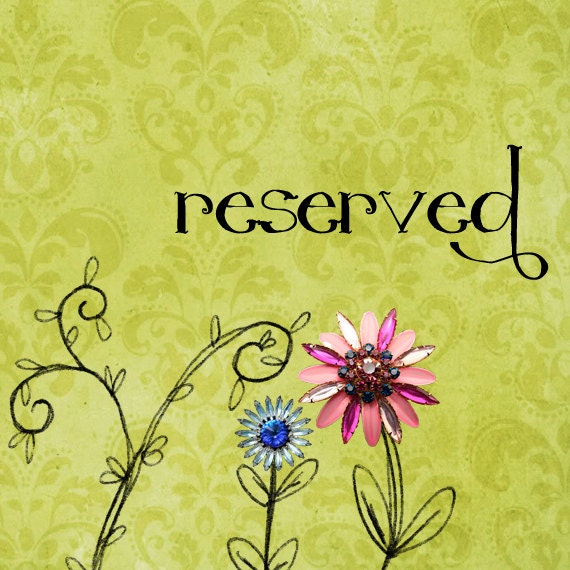 Reserved Just For LEA - The Lovely Lucy