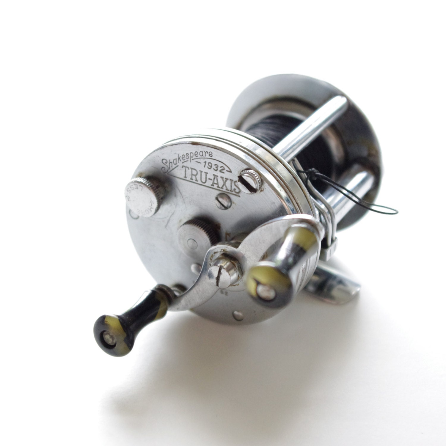 Vintage fishing reel shakespeare 1932 by thischarmingmancave