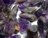 Raw Natural Amethyst Nugget Beads 10mm-20mm