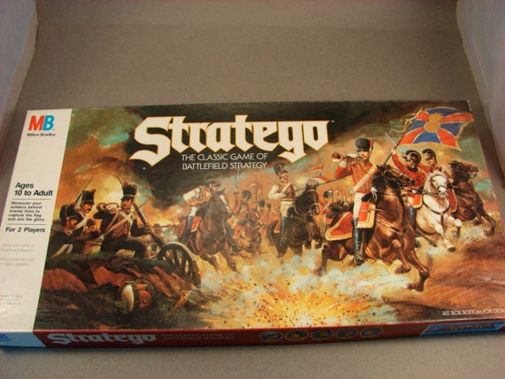 Stratego Game 1986  Made in the USA