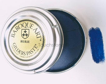 Baroque Art Gilders Paste Iris Blue 30ml 1.5oz #45-110