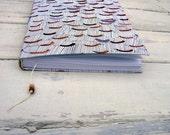 Handmade  SKETCHBOOK, notebook, original drawning, plus free 2 bookmark
