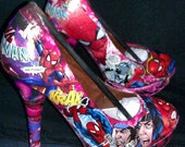 Ultimate Spider Man heels