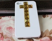 iPhone  4 case ,studded iPhone 4s case,  bling  iphone 4 case ,nail iphone 4 case,custom order for HTC and samsung case